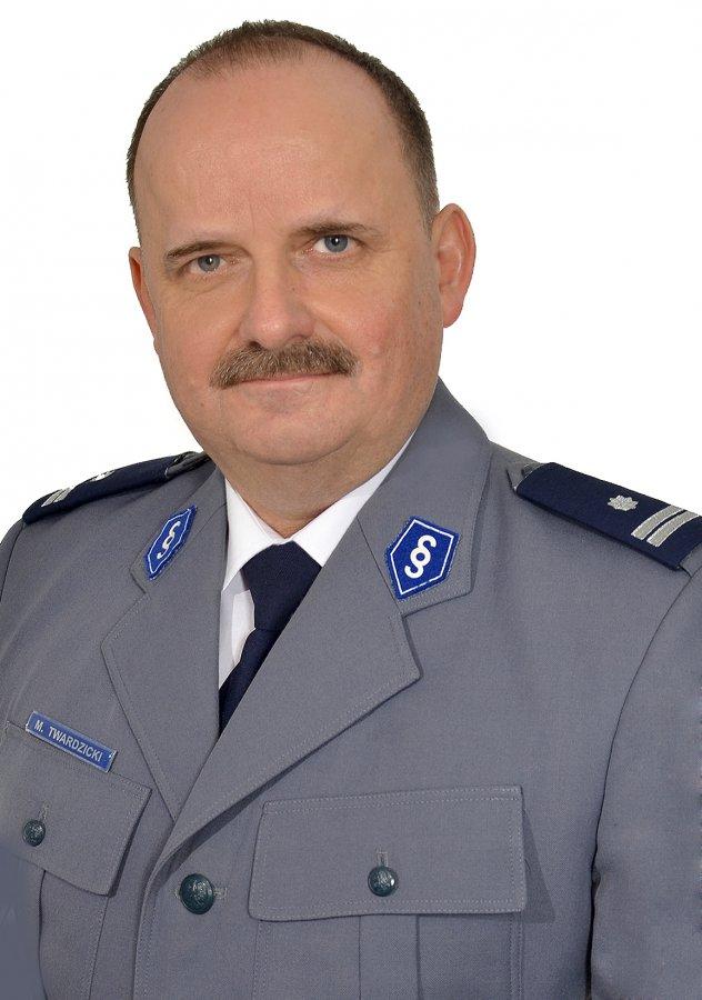 Podinspektor Marek Twardzicki / foto: KPP Brzozow