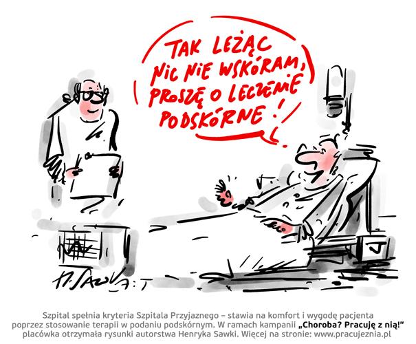 SZPITAL PRZYJAZNY - RYS. 1 Henryk Sawka