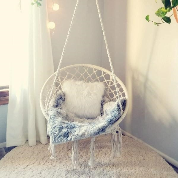 Fotel wiszący bocianie gniazdo ITALFORM NIDO – idealny do mieszkania