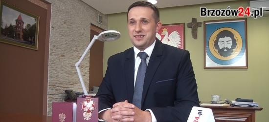 """Złoty Krzyż Zasługi dla Szymona Stapińskiego. """"Wkrótce w Brzozowie historyczna inwestycja"""" (VIDEO)"""