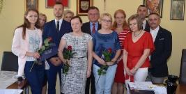 Wicestarosta Janusz Draguła wręczył akty nadania stopnia nauczyciela mianowanego