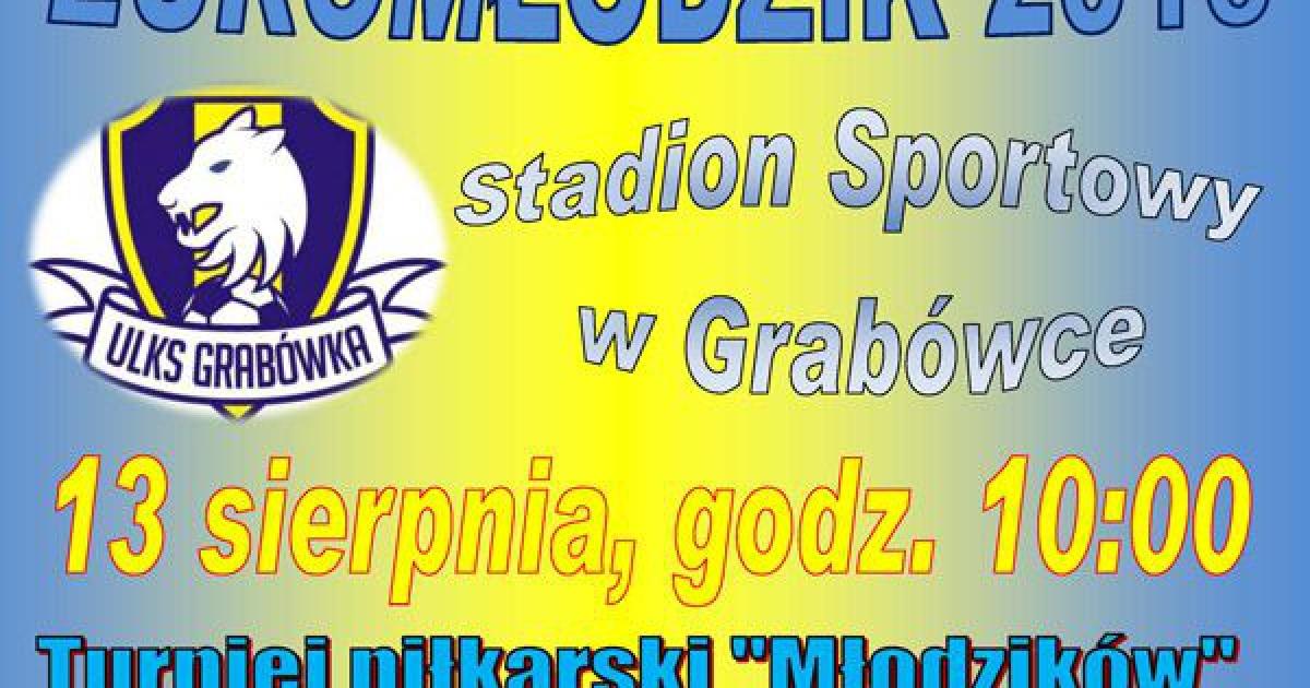 """Turniej piłkarski """"Euromłodzik"""" w Grabówce"""