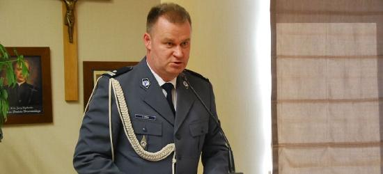 Wprowadzenie nowego komendanta brzozowskiej policji (ZDJĘCIA)