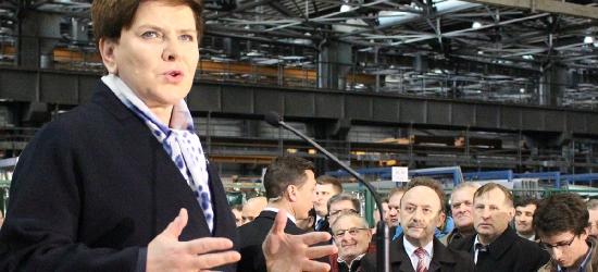 Premier Szydło po sprzedaży Autosanu: Sanok dostaje swoją wielką szansę (ZDJĘCIA, VIDEO)