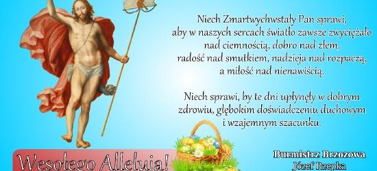 Wesołego Alleluja! Życzenia świąteczne burmistrza Brzozowa