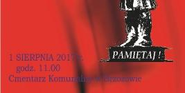 Gminne obchody Narodowego Dnia Pamięci Powstania Warszawskiego w Brzozowie