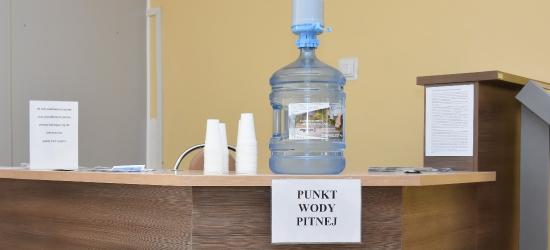 Woda w urzędzie dla ochłody (ZDJĘCIA)