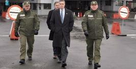 Wizyta przedstawicieli Konsulatu USA w Bieszczadzkim Oddziale Straży Granicznej (ZDJĘCIA)