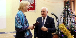 Burmistrz z wizytą opłatkową w Domu Polskim na Ukrainie (ZDJĘCIA)
