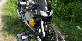Coraz więcej wypadków z udziałem jednośladów (ZDJĘCIA)