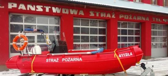Strażacy z Brzozowa otrzymali nową łódź ratowniczą (FOTO)