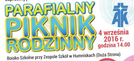 Parafialny Piknik Rodzinny w Humniskach