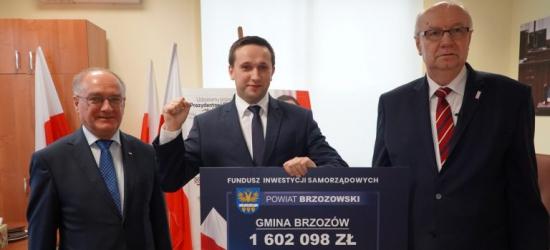1.6 miliona złotych na inwestycje w gminie Brzozów!