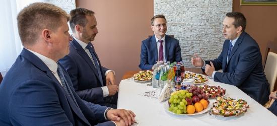 Wiceminister Kowalski z pomysłami na rozwój Rzeszowa i Brzozowa (ZDJĘCIA)
