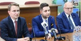 Wiceminister sprawiedliwości Patryk Jaki gościł w gminie Dydnia (FILM, ZDJĘCIA)