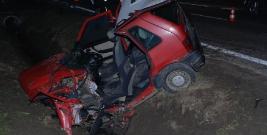 POWIAT BRZOZOWSKI: Trzy groźne wypadki jednego dnia. Kierowcy bez uprawnień, ranni w szpitalu (ZDJĘCIA)