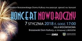 Koncert Noworoczny w Brzozowskim Domu Kultury
