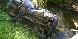Wypadki drogowe oraz pijani kierowcy na terenie powiatu brzozowskiego