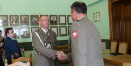 Wojskowa Komenda Uzupełnień w Sanoku ma nowego komendanta. Żołnierz służył w Afganistanie (ZDJĘCIA)
