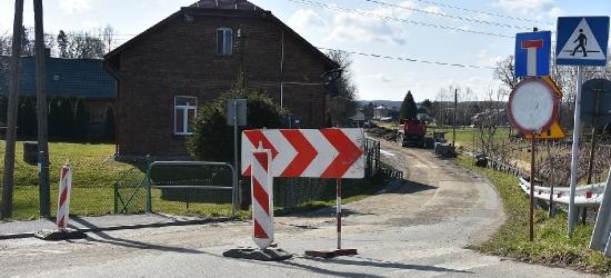 Ruszyła przebudowa drogi gminnej w miejscowości Humniska – Osiedle Widły (ZDJĘCIA)