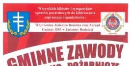 Gminne Zawody Sportowo- Pożarnicze w Jasienicy Rosielnej