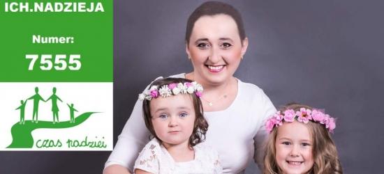 Natalia, mama cudownych córek, ma szansę wygrać z rakiem! Trwają licytacje i zbiórka na życie