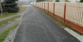 Remont pięciu odcinków dróg w Baryczy (ZDJĘCIA)