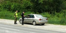 Bieszczadzcy pogranicznicy w służbie na granicy macedońsko-greckiej (ZDJĘCIA)