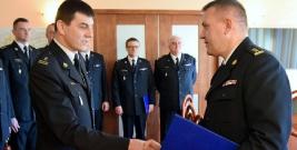 Krzysztof Folta zastępcą komendanta Państwowej Straży Pożarnej w Brzozowie (ZDJĘCIA)