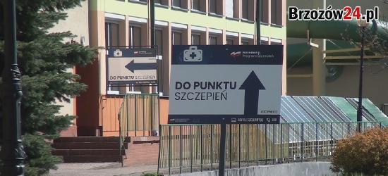 BRZOZÓW. W SP 1 rusza punkt szczepień powszechnych! (VIDEO)