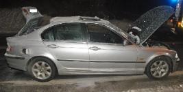 Zatankował gaz mimo, że wymontował butlę – BMW wybuchło. Cztery osoby z poważnymi obrażeniami w szpitalu (ZDJĘCIA)