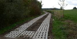 Rekultywacja drogi rolniczej w Grabówce (ZDJĘCIA)