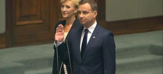 Andrzej Duda zaprzysiężony. Wysłuchaj orędzia nowego prezydenta Polski (FILM)