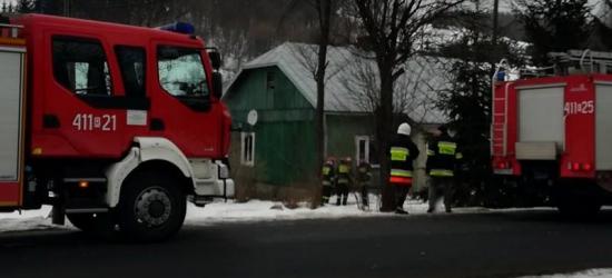 DYDNIA: Był pożar. Znaleziono zwłoki (ZDJĘCIA)