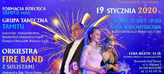 BRZOZÓW: Koncert noworoczny 2020. Musisz tam być!