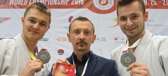 Brzozowscy zawodnicy ju-jitsu wicemistrzami świata (ZDJĘCIA)