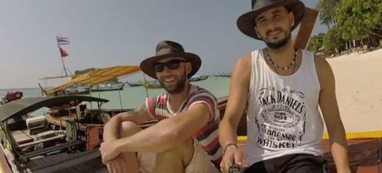 Stefan i Lukas pozdrawiają Czytelników Esanok.pl z Tajlandii! (FILM)