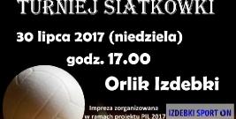 Turniej siatkówki na Orliku w Izdebkach