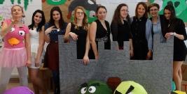Niech żyje bal! Znaleźli się w krainie Angry Birds (ZDJĘCIA)
