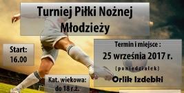 Turniej piłki nożnej młodzieży w Izdebkach
