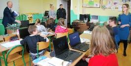 Nowoczesne technologie w brzozowskich szkołach (ZDJĘCIA)