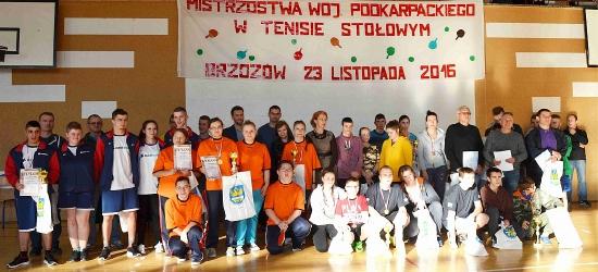 BRZOZÓW24.PL: Mistrzynie tenisa stołowego (ZDJĘCIA)