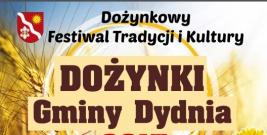 GMINA DYDNIA: Dożynki Gminne w Niebocku już 20 sierpnia