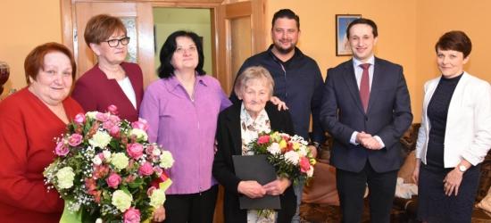 Piękny jubileusz pani Zofii.  Kolejnych stu lat! (FOTO)