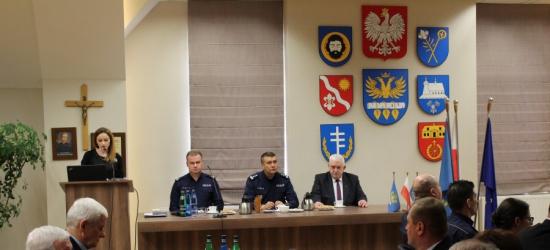 Miniony rok bezpieczny dla mieszkańców powiatu brzozowskiego