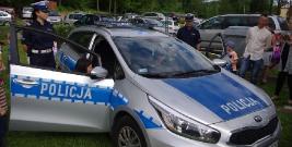 Brzozowscy policjanci na pikniku integracyjnym
