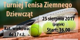 Turniej tenisa ziemnego dziewcząt