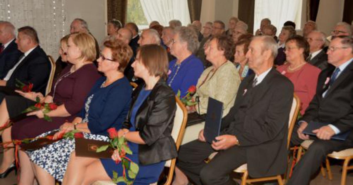 BRZOZÓW24.PL: Pary obchodziły złoty jubileusz pożycia małżeńskiego (ZDJĘCIA)