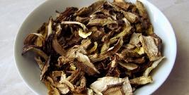 Uwaga na grzyby suszone niewiadomego pochodzenia!