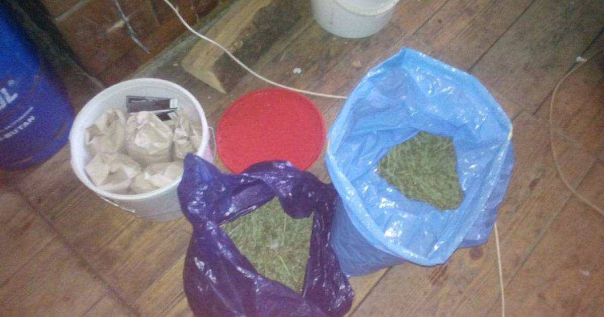 60-latek trzymał w domu blisko 2 kg marihuany. Grozi mu 10 lat (ZDJĘCIA)